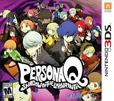 Persona Q: Shadow of the Labyrinth - Nintendo 3DS Atlus Unite RPG Brand NEW