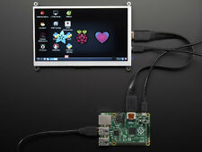 "Adafruit HDMI 7"" Inches 800x480 Display Backpack Screen LCD Monitor Raspberry Pi"