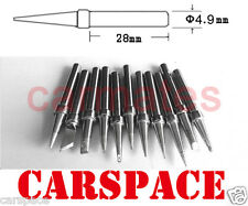 11 PCS SOLDER SOLDERING IRON STATION Tips for Dick Smith DSE T2000 T2200 T2260