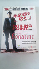 "DVD ""TAKESHI KITANO PACK"" 3 DVD VIOLENT COP / SONATINE / BOILING POINT CON FUNDA"