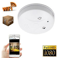 WIFI HD 1080P Camcorder Nanny Cam Spy Smoke Detector Digital Camera Motion DVR