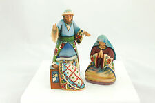 Jim Shore Vintage Ceramic Nativity Scene Christmas Ornament Holiday Decoration 3