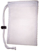 """White Soap Saver w/ string lock.""""Hang your favorite or specialty Soap on a Rope"""""""