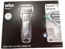 New BRAUN Series 7 Smart Shaver 7893s Wet & Dry Sonic Technology