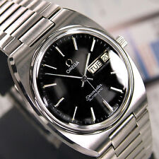 VINTAGE MEN'S OMEGA SEAMASTER AUTOMATIC DAY&DATE ANALOG DRESS WATCH ST. STEEL