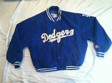 COLLECTIBLE PRE-OWNED L.A. DODGERS RETRO STARTER JACKET SIZE X-LARGE