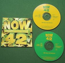 Now That's What I Call Music 42 Boyzone Mister Oizo Sash Blur Roxette + CD x 2