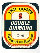 Unused 1950s-60s Ind Coope Double Diamond D. 61Tavern Trove 9oz