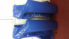Extreme 60cm blue high heel crotch boots, UK size 10