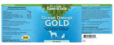 Animal Essential APAWTHECARY Ocean Omega Gold for Dogs & Cats 90 Softgels