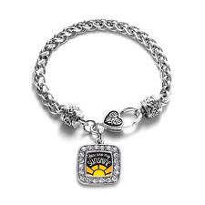 Inspired Silver You Are My Sunshine Classic Braided Charm Bracelet