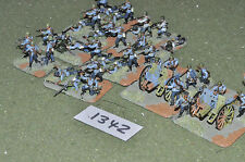 20mm WW2 finnish artillery & infantry battle group plastic (11342) painted
