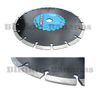 "9"" DIAMOND ANGLE GRINDER MASONRY CONCRETE BRICK STONE TILE CUTTING BLADE DISC"