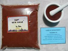 NEW MEXICO *HOT* RED CHILE POWDER  Two Pounds  Fresh   *Free Shipping for USA*