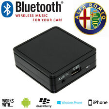 ALFA ROMEO 147 156 GT BRERA MITO musique sans fil Bluetooth mains libres interface