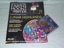Issue 15 Build A Model Earth Moon & Sun Orbiter Magazine & Part/s by Eaglemoss