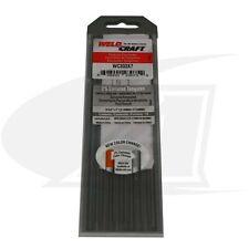 """Weldcraft® Brand Ceriated Tungsten Electrode 1/16"""" (1.6mm)"""