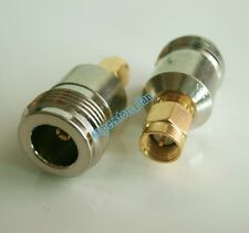SMA Male Plug TO N Female Jack RF coaxial adapter connector for Antenna Router