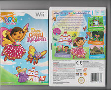 DORA SAVES THE CRYSTAL KINGDOM NINTENDO WII KIDS  DORA EXPLORER