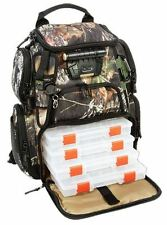 New Wild River Recon Lighted Camo Fishing Backpack Mossy Oak WCT503