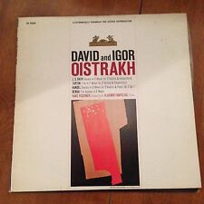 David And Igor-Oistrakh-J.S. Bach-Tartini-LP-Heliodor-HS25009-Vinyl Record