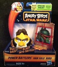 Angry Birds Star Wars Power Battlers HANS SOLO Bird -  NEW!