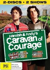 Hamish and Andy's Caravan of Courage - Great Britain & Ireland / America DVD NEW