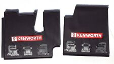 Kenworth OEM Black Rubber Floor Mats w/Red Logo Fits 2005-17 T600 660 800 W900