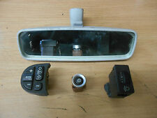 ALFA ROMEO 147 2003 INTERIOR REAR VIEW MIRROR & STEERING WHEEL SWITCH CONTROLS