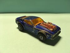 Diecast Matchbox Rolamatics No. 10 Mustang Piston Popper 1973 Wear & Tear