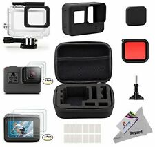 Deyard 25 in 1 GoPro Hero 5 Accessory Kit with Shockproof Small Case Bundle