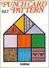 Brother Volume 5 Punchcard Pattern book in pdf, pictures & DAK files on CD