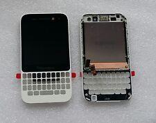 Original LCD Touchscreen Digitizer Display Front Glas Rahmen weiß Blackberry Q5