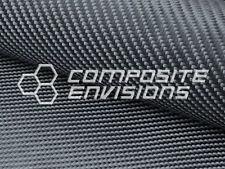 """Black Kevlar Aramid Technora Fabric 2x2 Twill Weave 50"""" 5.3oz"""