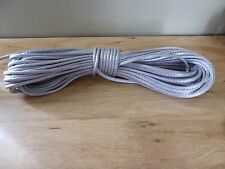 "1/8 "" x 300 ft. Pre-Cut Dyneema rope hank. Gray. Made in the USA."