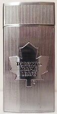 Bic Nhl Toronto Maple Leafs Mini Lighter & Case Stainless Steel Limited Edition