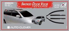 Smoke Weathershield Weather Shield 4pcs for 2006 ~ 2012 Toyota RAV4