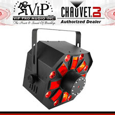 Chauvet Swarm Wash FX 4-in-1 DJ Light w/RGBAW Rotating Derby Wash, laser, strobe