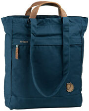 Fjallraven Unisex Tote Pack No.1 Carry Bag Backpack Handbag Travel Outdoor Navy