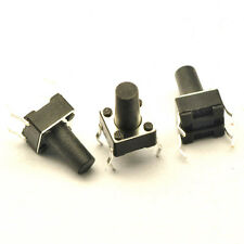 30pcs Tactile Push Button Switch Tact Switch 6X6X10mm 4-pin DIP NEW