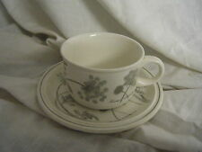C4 Pottery Grindley of Stoke Evening Gala Cup & Saucer 15x7cm 7A2A