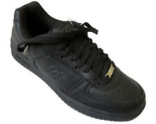 ~ VINTAGE ~ DC Black SKOOP LOW Mens SKATE SKATEBOARDING SHOES Sz 10.5 NEW IN BOX