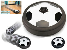 FOOTBALL SOCCER AIR POWER DISK DISC HOVER GLIDE INDOOR OUTDOOR CHIDRENS KIDS TOY