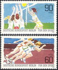 Germany (B) 1982 Sports Fund/Volleyball/Athletics/Games/Animation 2v set n27517