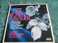 Strauss Der Rosenkavalier Decca SKB 25032 CLASSICAL BOX 4xVinyl LP Set