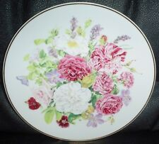 Franklin Mint Collectors Plate REGAL HERITAGE (OLD GARDEN ROSES) 1991
