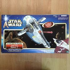 Star Wars SLAVE 1 Jango Fett AOTC. 2002 COLLECTOR ! NEW SEALED !