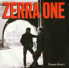 "ZERRA ONE domino effect/stronger tonight MER 239 uk mercury 1986 7"" PS EX/EX"