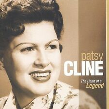 FREE US SH (int'l sh=$0-$3) NEW CD Patsy Cline: Heart of a Legend