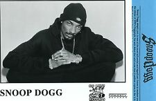 Snoop Dogg (rap) 'Top Dogg' 1999 No Limit/Priority Records Press Kit w/ Photo